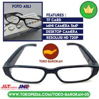 Spy Kamera Kacamata Beresolusi Tinggi HD 720p Original Kacamata SpyCam