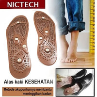 Alas Kaki Peninggi Badan - Alat Terapi Sandal Sepatu Kesehatan Niktech