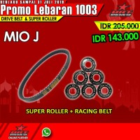 Paket Super Roller & V Belt BRT Yamaha Mio J Injection