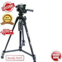 Tripod Excell Promoss Black Hitam camera DSLR + Bag Original