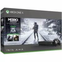 Xbox one X 1 TB Metro Exodus bundle