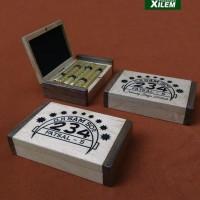 HOT SALE Kotak Rokok Kretek 234, Kayu custom ukir laser