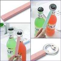 BM005 Pembuka Botol Kaca Stainles Bir / Beer Bottle Opener Smiley Face