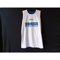 Jersey Atasan Indonesia Biru Putih