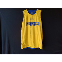 Jersey Atasan Indonesia Biru Kuning