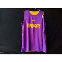 Jersey Basket Atasan Indonesia Ungu Kuning