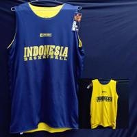 Jersey Basket Atasan Indonesia Donker Kuning