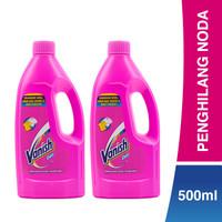Vanish Penghilang Noda Pink Liquid 500ml Twinpack
