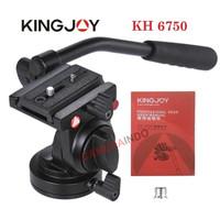 FLUIDHEAD Kingjoy KH 6750 profesional Fluid Head tripod monopod slider