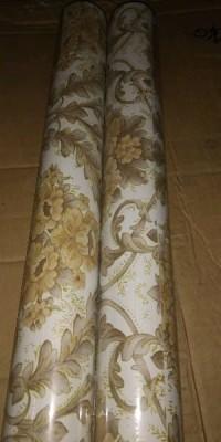 Wallpaper Sticker Dinding Batik Gold 9745873