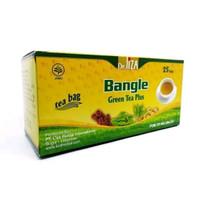 Green Tea Plus Bangle Teh Pelangsing Teh Penurun Berat Badan