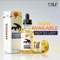 Komodo Breakfast Not So Lazy 3mg by MILF Liquid Vaporizer Cukai