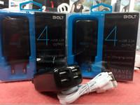 BARU Travel Charger Bolt 4 Output Port USB 2.1A Original 100%