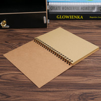 Buku Sketchbook Kertas Kraft Paper | Memopad | Drawing Pad