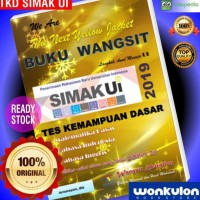 Simak Ui 2019 / Tkd / Buku Wangsit Sbmptn 2019