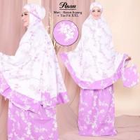 Jual Mukena wanita muslimah motif katun jepang cantik terbaru soft