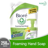 Sabun Cuci Tangan Biore Foaming Hand Wash Fresh Antiseptic 250 ml