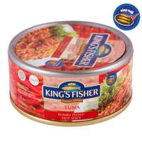 King's Fisher Tuna Canned Hot Spicy Daging Tuna Makanan Kaleng 170 g