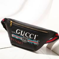 Waist Bag / Sling Bag / Gucci Bumbag Future 30 cm Black
