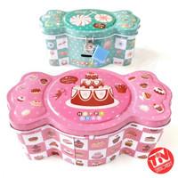 Celengan Kaleng Permen Gembok (Money Saving Box Candy)