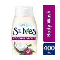 St. Ives Soft & Silky Coconut & Orchid Body Wash 400 mL