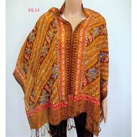 Selendang Batik Pashmina Batik Viscose Halus ELEGANT