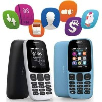 Nokia Jadul Murah Nokia 105 Hp mobile Phone dual sim 2017