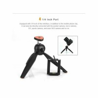 Yunteng YT- 228 mini Tripod W/Phone Holder For Digital Camera/Phone