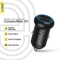 UNEED Smart Car Charger CompactRide 101 Dual USB Port – UCC101