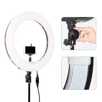 Ring light Ringlight LED RL - 18 fullset Dimmable Camera Photo Fullset