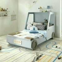 dipan tempat tidur anak mobil colt