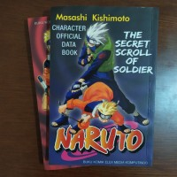 Komik Character Official Data Book Naruto