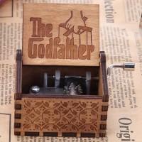 Kotak Musik The Godfather Wooden Music Box Kado Unik