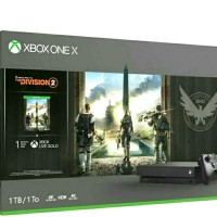 Xbox One X 1TB [ Tom Clancy's The Division 2 Bundle ]
