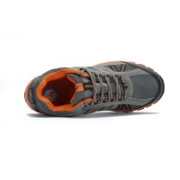 Sepatu Sport Gunung/Hiking/Outdoor KETA 427 Grey Orange ( Semi