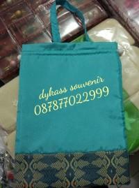 Promo Souvenir Pernikahan Tas Yasin/Kantong Serut Besar+Plastik+Kartu