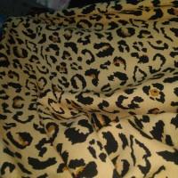 kain-bahan katun/cotton rayon motip macan