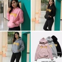 Rx Fashion Sweater Trasher Bahan baby terry fit L, gambar printing,