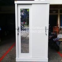lemari pakaian 2 pintu sliding