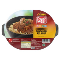 Ready Meal Chicken Curry with Noodle Fiesta
