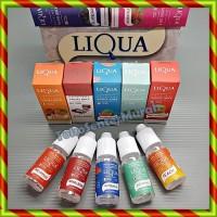 Paket 10 Pcs LIQUA Liquid 10ml / Refill Rokok Elektrik Vaporizer