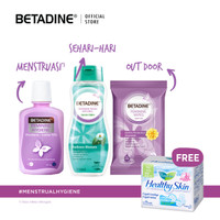 Betadine Feminine Care Special Package 1 Free Laurier Healthy Skin