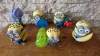 Happy Meal McDonald's ,Minion, Despicable Me 2, set 6 of 8 USA version