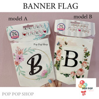 Banner / Bunting Flag BRIDE TO BE - Acara Wedding Bridal Shower