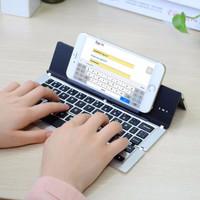F18 Folding Portable Magnetic Bluetooth Keyboard Lipat