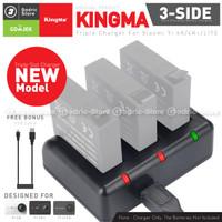 KingMa Dual Double Desktop Charger for Xiaomi Yi 4K / 4K PLUS / LITE