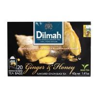 DILMAH GINGER & HONEY 20 TEA BAGS TEH JAHE MADU DIL MAH