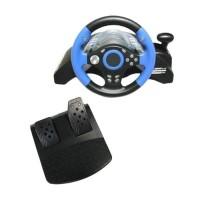 Yang Termurah Universal Steering Wheel 5In1 For Ps1 Ps2 Ps3 Pc