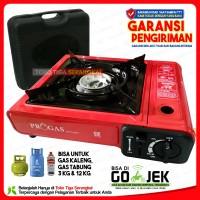PROGAS kompor gas portable (Gas kaleng & tabung Gas)