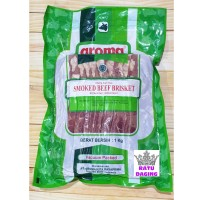 Aroma Beef Bacon / Smoked Beef Brisket @1kg - HALAL